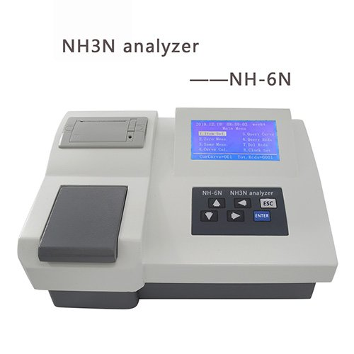 Ammonia and Nitrogen Analyzer 01